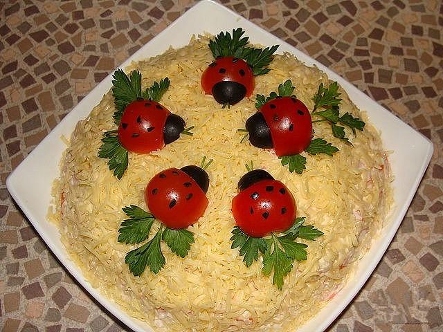 Форма для салатов своими руками