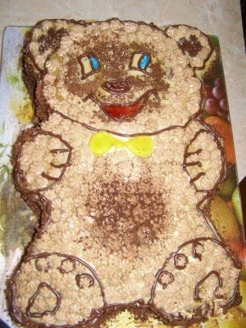 Как сделать медвежонка для торта