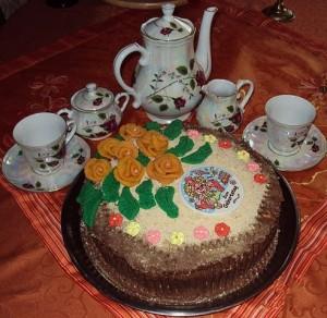 Торт к празднику