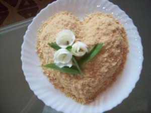Салат Сюрприз ко Дню Святого Валентина