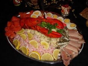 Холодная закуска Рыбное ассорти
