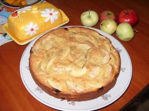Пирог Яблочная фантазия