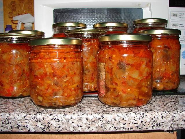 Соте из баклажанов на зиму рецепты с пошагово
