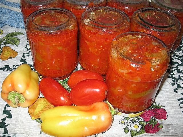 Готовим лечо из помидор и перца