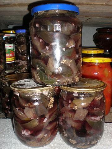 Баклажаны на зиму лучшие рецепты без стерилизации пошагово