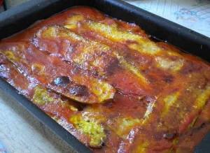 Кабачки с сыром пармезан