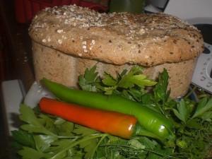 Гречневый острый хлеб