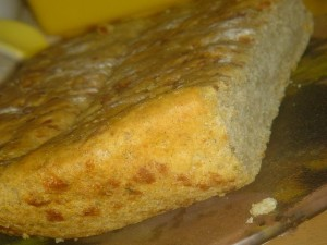 Сырная лепёшка