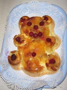 Яблочный пирог для детей