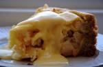 Яблочный пирог с творожной начинкой