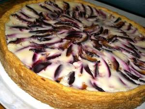 Пирог Сливовое чудо