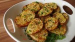 Картошечка, запечённая, с кунжутом