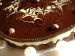 Сливочно-шоколадный тортик