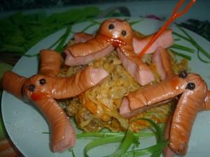 Весёлые осьминожки