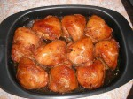 Куриные бёдра под кисло-сладким соусом