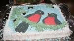 Торт Снегири