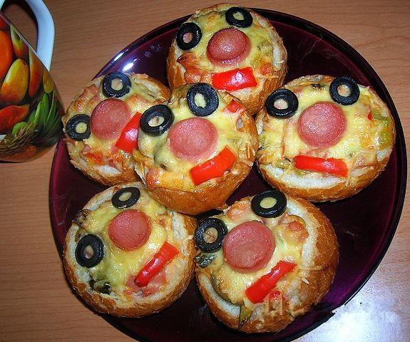 Горячие бутерброды для детского дня рождения
