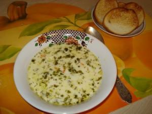 Сливочно-овощной суп