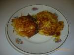 Куриные отбивные в картофельной шубе