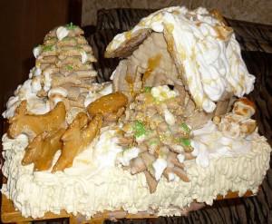 Торт Избушка деда Мороза