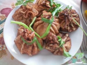 Блинчики с мясом