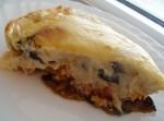 Мусака под сыром