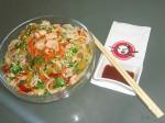 Рисовая лапша со свининой и овощами