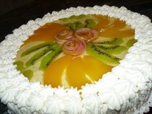 Cливочно-творожный тортик