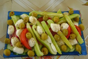 Вариант на тему салат Греческий