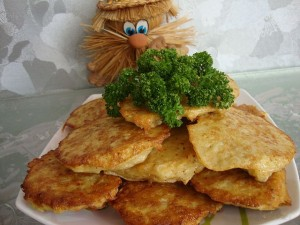 Драники из картофеля и цветной капусты