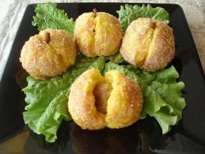 Картофельные персики