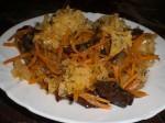 Салат с китайскими грибами
