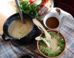 Суп-пюре картофельный с грибами