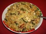 Turkey & courgette couscous salad
