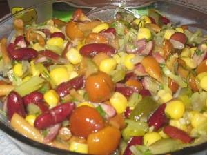 Просто салат
