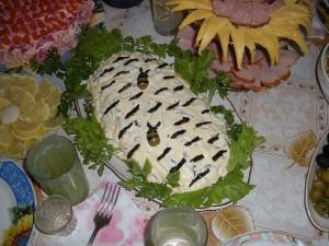 Салат Березка