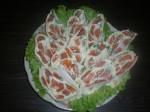 Лаваш с лососем и сыром