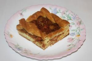 Грушевый пирог на дрожжевом тесте
